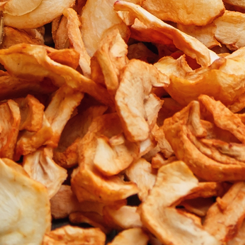 dried apple bits